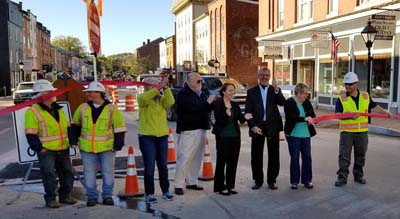 Ribbon Cutting Hallowell