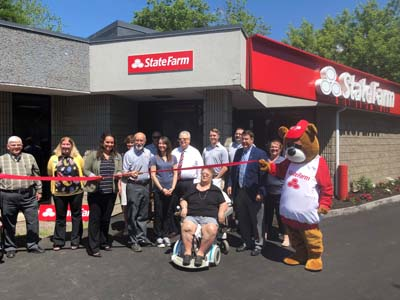 ribbon cutting state farm
