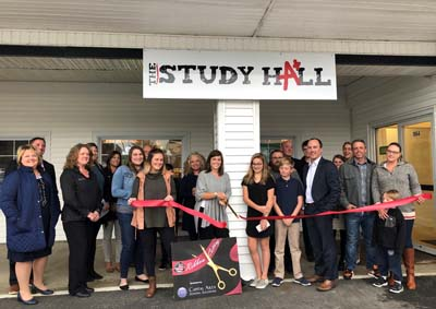 ribbon cutting study hall 2