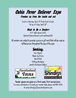 Shindigs Vendor Flyer